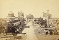 Gate of the Great Imambara of Nawab Assuf-ood-daulah [Lucknow].